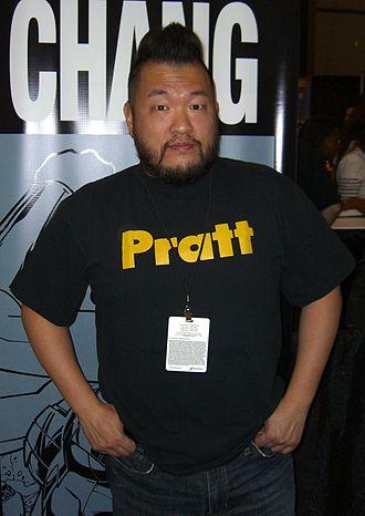 Bernard Chang - Chang at the New York Comic Con October 9, 2010.