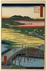 Sugatami Bridge, Omokage Bridge and Jariba at Takata
