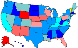 102nd United States Congress - Image: 102 us house membership