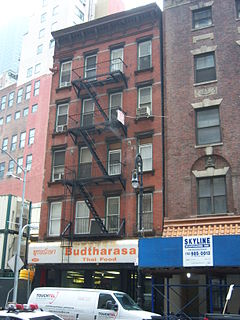 109 Washington Street building in New York City