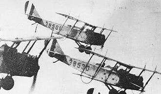 Texas Air National Guard - 111th Observation Squadron Curtiss JN-4 Jennies, 1925