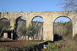 11 Pont de les Femades (aqüeducte romà), al Pont d'Armentera.jpg