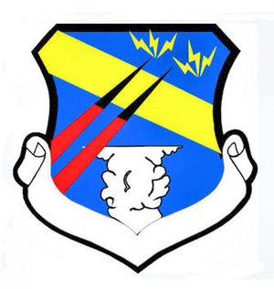 RAF Wormingford - Image: 128thfighterwing emblem