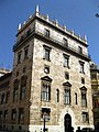 135 Palau de la Generalitat Valenciana, torre moderna, pl. Manises.JPG