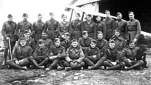 13th Aero Squadron - Squadron photo after the Armistice, November 1918