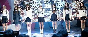 Lovelyz - Lovelyz in SBS Gayo Daejun