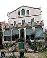 149 Casa Joan Colom, façana del jardí (la Garriga).JPG