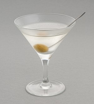 Martini (cocktail) - The martini is one of the most widely known cocktails