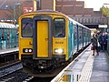 150231 Barry Island to Aberdare 2A38 at Cathays (23675544040).jpg