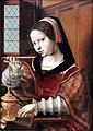 1530 van Hemessen Die Goldwägerin anagoria.JPG