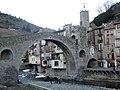 156 Camprodon, pont nou i portal de Cerdanya.jpg