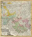 1730 Homann Map of the Lower Rhine ( Frankfort, Cologne, Coln, Heidelberg, etc. ) - Geographicus - RhenanusInferior-homann-1730.jpg