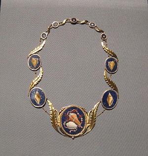 Caroline Bonaparte - c.1810 jewelry of Caroline Bonaparte.
