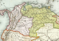 1846 Bogota detail map Colombie et Guyanes by Duvotenay BPL 11108.png