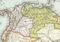 1846 Bogota detail map Colombie et Guyanes by Duvotenay BPL 11108.png
