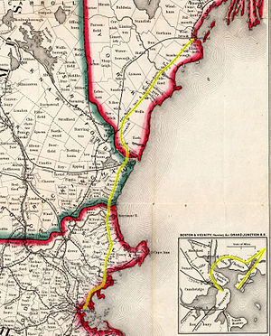 1849 Railroad Map of New England & Eastern New York, Cropped and with Eastern Railroad Highlighted.jpg