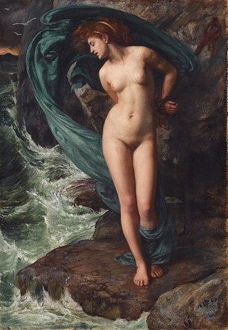 Andromeda (mythology) - Andromeda (1869) Edward Poynter