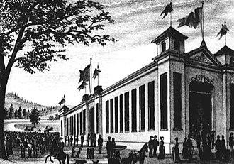 Oregon State Fair - The fairgrounds circa 1881
