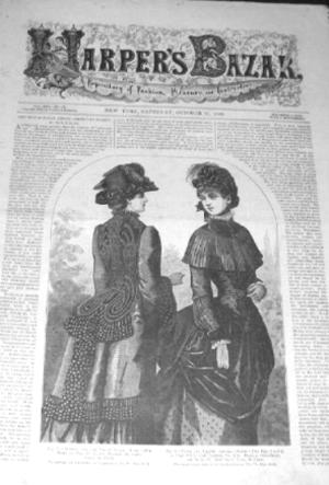 Mary Louise Booth - Harper's Bazaar (1883)