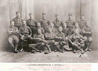 1888 Cincinnati Red Stockings season - The 1888 Cincinnati Red Stockings