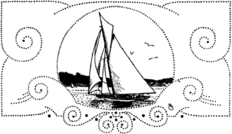 Sailing at the 1912 Summer Olympics - Yachting Bookmark in the Official Report of the Olympic Games of Stockholm 1912