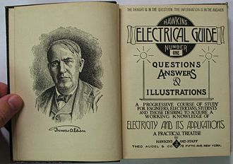 Frank D. Graham - The 1917 Hawkins Electrical Guide, published by Theo. Audel and Co.