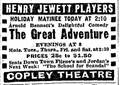 1918 CopleyTheatre BostonGlobe 19April.png