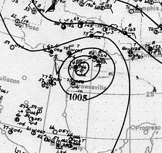 Effects of the 1919 Florida Keys hurricane in Texas