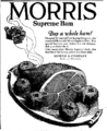 1922 Morris Supreme Ham newspaper ad.png
