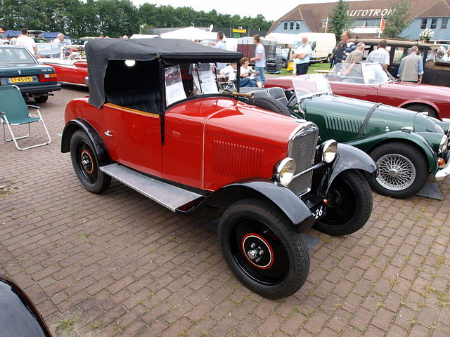 Image of 1930 Peugeot, Dutch licence registration DE-40-26 p4