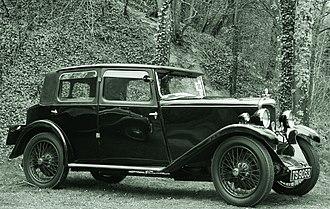 Riley Nine - 1930 Biarritz