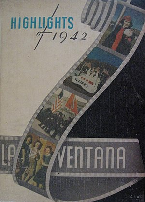 Yearbook - A 1942 copy of the yearbook La Ventana from Texas Technological College (now Texas Tech University)