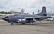 1951 Douglas F3D-2 Skyknight CN 7468 (124598) (National Naval Aviation Museum) (8743914486).jpg