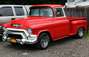 Chevrolet Task Force - Image: 1955 GMC 150 pickup (152 8)