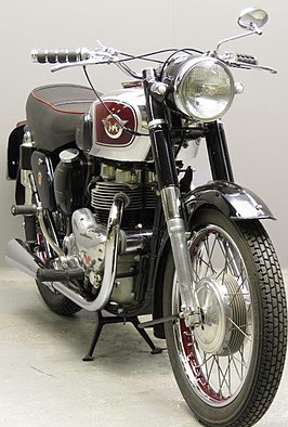 Matchless G9 uit 1956