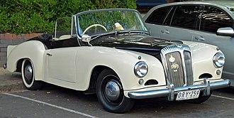Daimler Conquest - 1955–1957 Daimler drophead coupé
