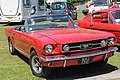 1965 Ford Mustang convertible, AHJ 171C, UK (8988815653).jpg