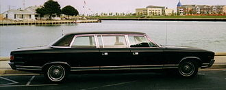 Pillar (car) - Image: 1969 AMC Ambassador limousine in Wisconsin side R