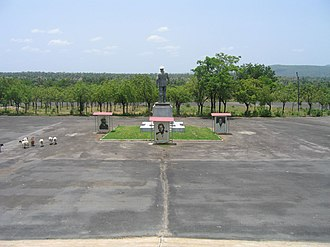 Gnassingbé Eyadéma - Monument to the 1974 Togo plane crash, which Eyadéma survived.