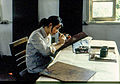 1983 in Jiangsu, leading artist of a handicraft workshop.jpg