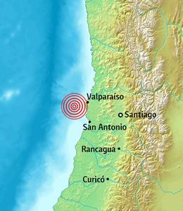 1985 Algarrobo Earthquake Wikipedia