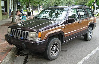 Jeep Grand Cherokee (ZJ) - 1993 Jeep Grand Wagoneer