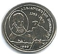 1 песо. Куба. 1989. 220 лет со дня рождения Александра фон Гумбольдта.jpg