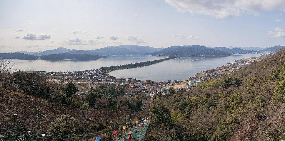 1 Amanohashidate panorama 2014