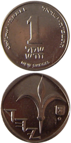 1 NIS coin