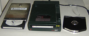 Jaz drive - Internal and external 1GB Iomega Jaz drives with media.