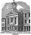 1stUniversalist HanoverSt Boston HomansSketches1851.jpg