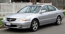 Acura 2002 on Acura Tl   Wikipedia  The Free Encyclopedia