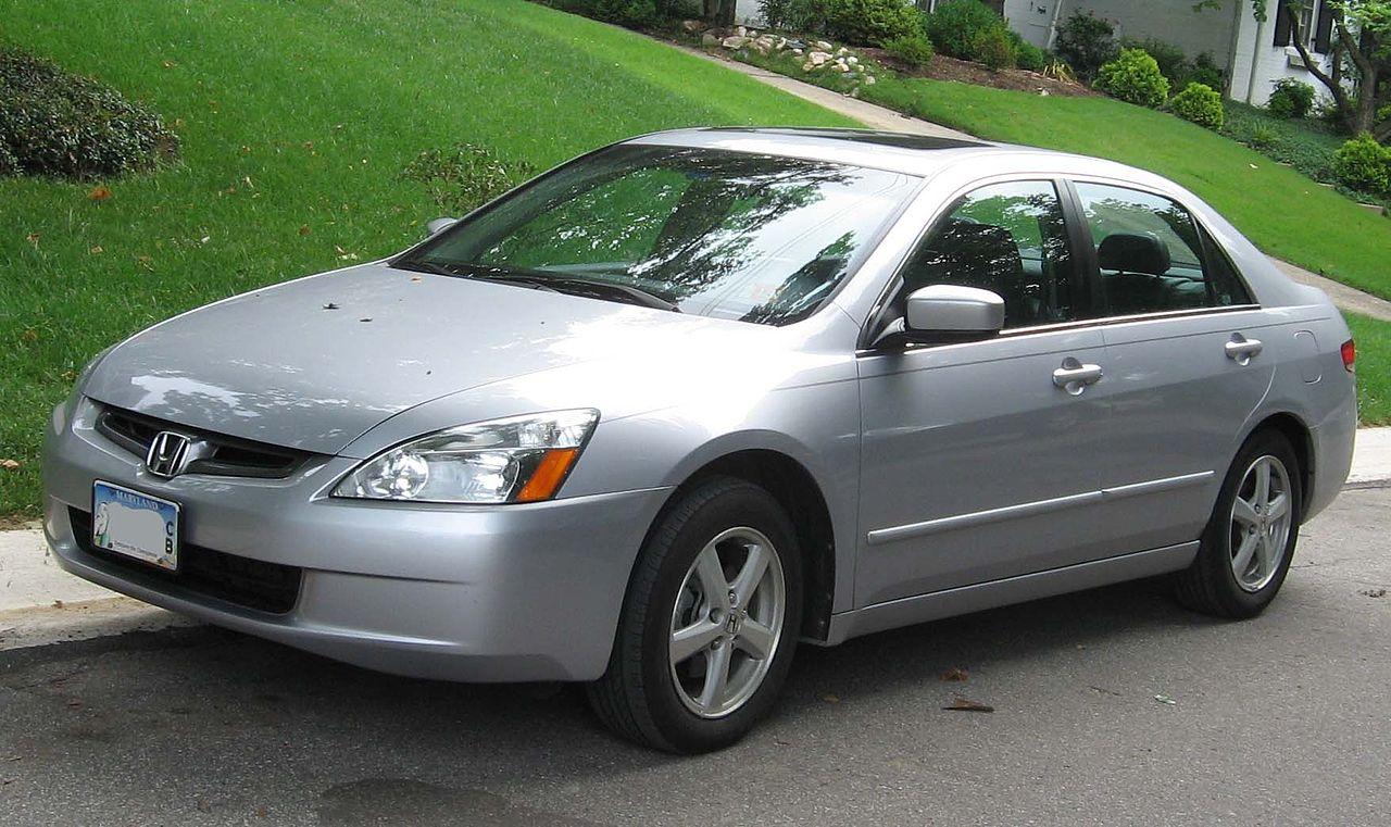File 2003 2004 Honda Accord Ex Sedan Jpg Wikimedia Commons