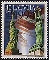 20040706 40sant Latvia Postage Stamp.jpg